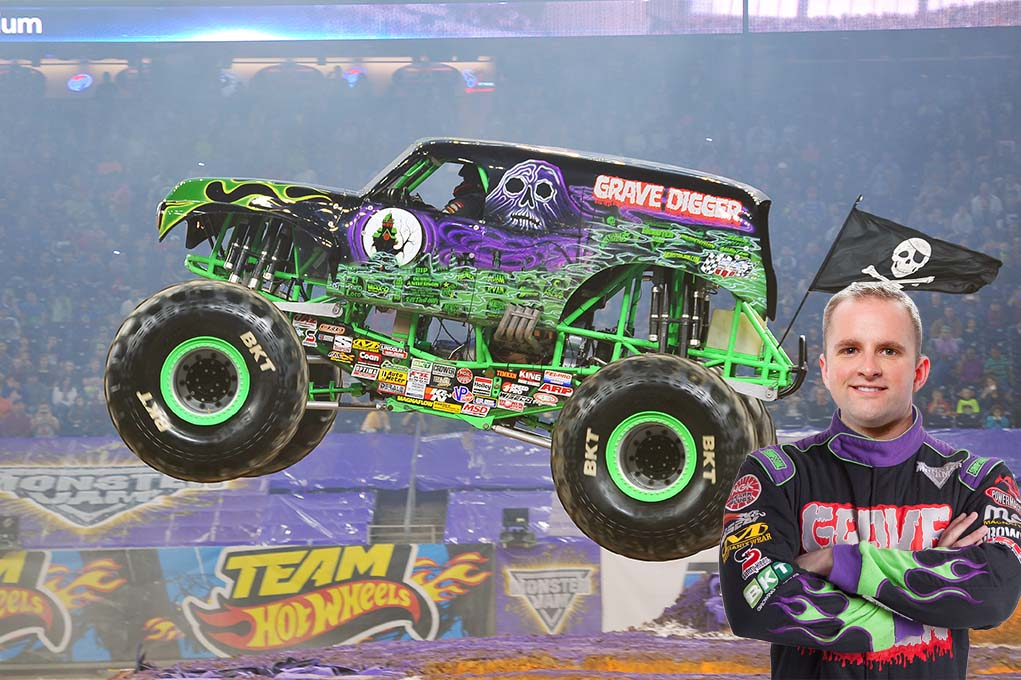 Adam Anderson, Grave Digger driver
