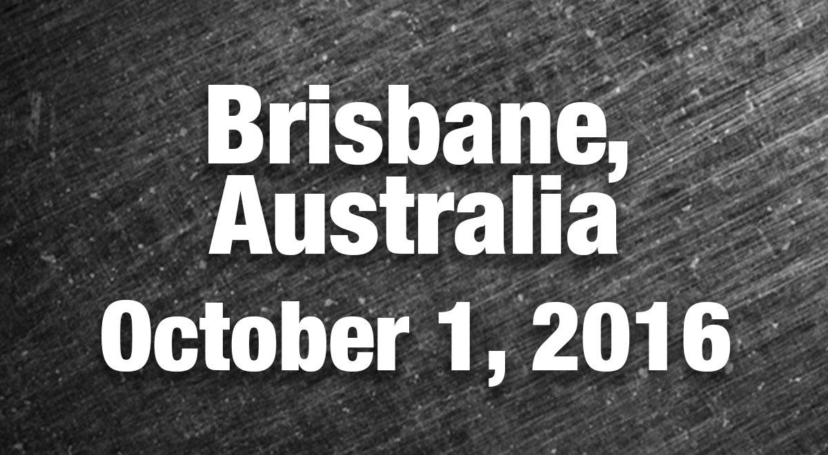 Brisbane Australia Results