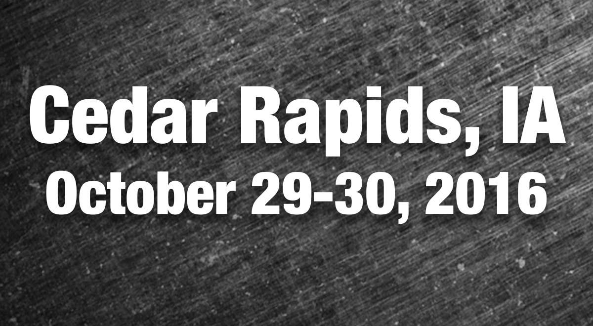 Cedar Rapids, IA Results