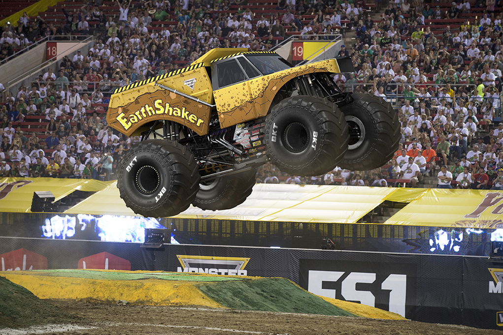 Image result for earthshaker monster truck
