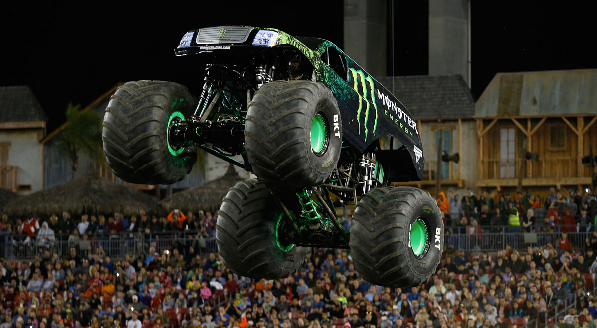 Monster Jam FS1 Championship Series in Tampa