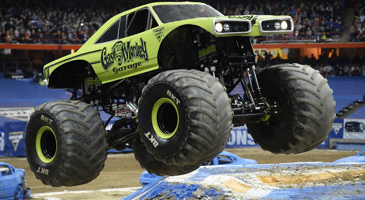 Gas Monkey Garage Monster Jam Truck