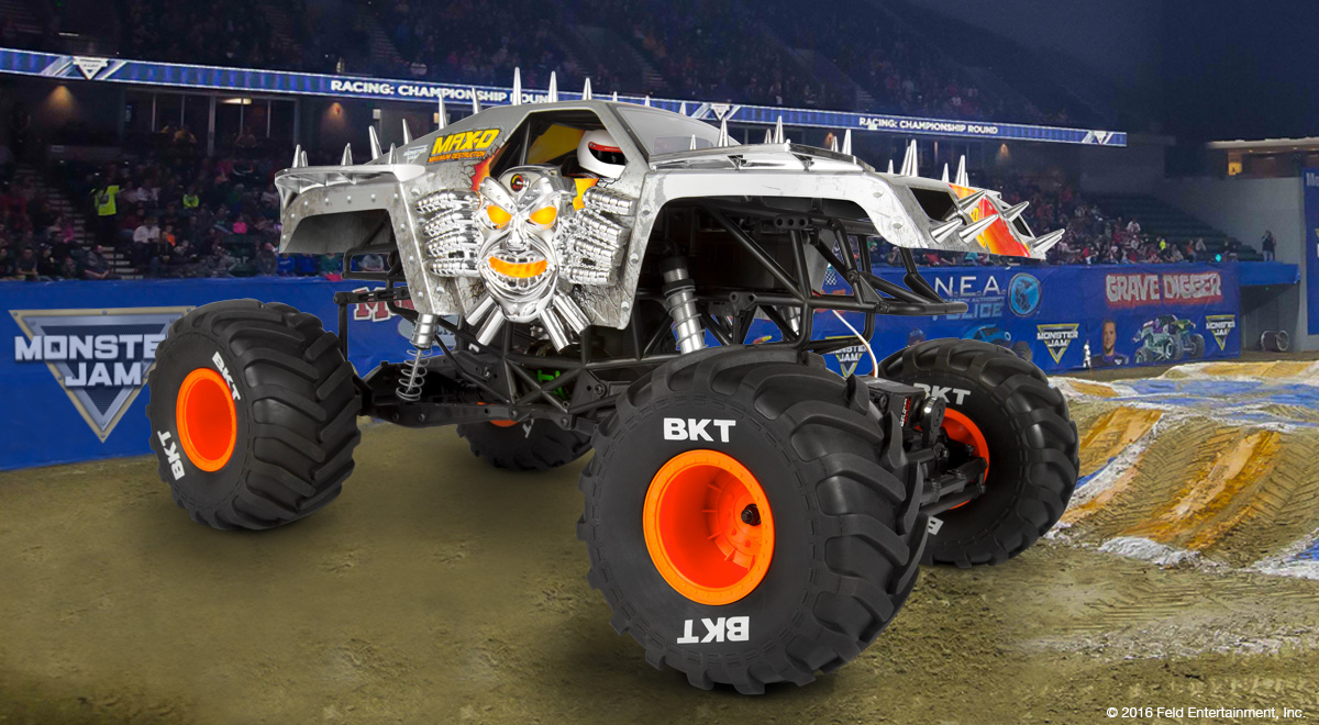 Monster Jam MaxD Axial RC