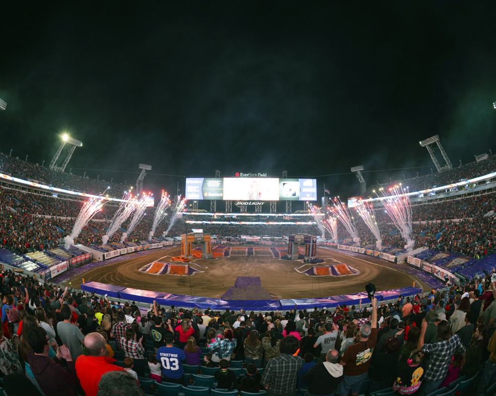 Monster Jam @ Carrier Dome | Monterey | California | United States