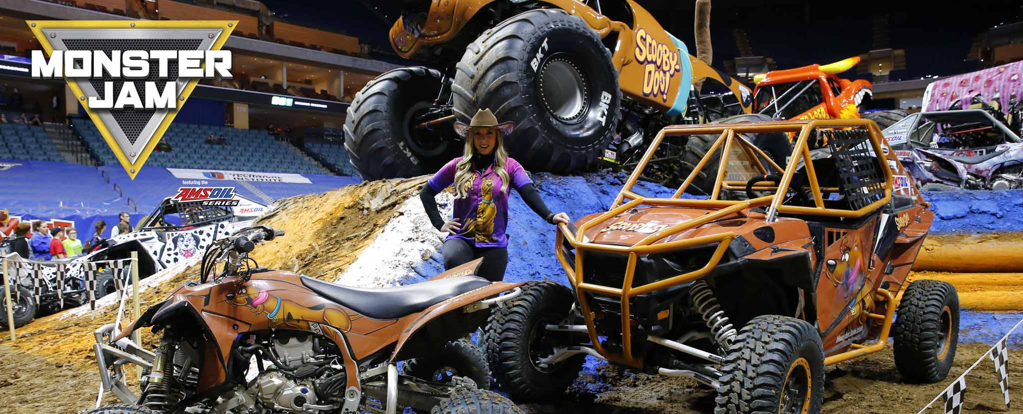 Monster Jam featuring the AMSOIL Series in Tulsa