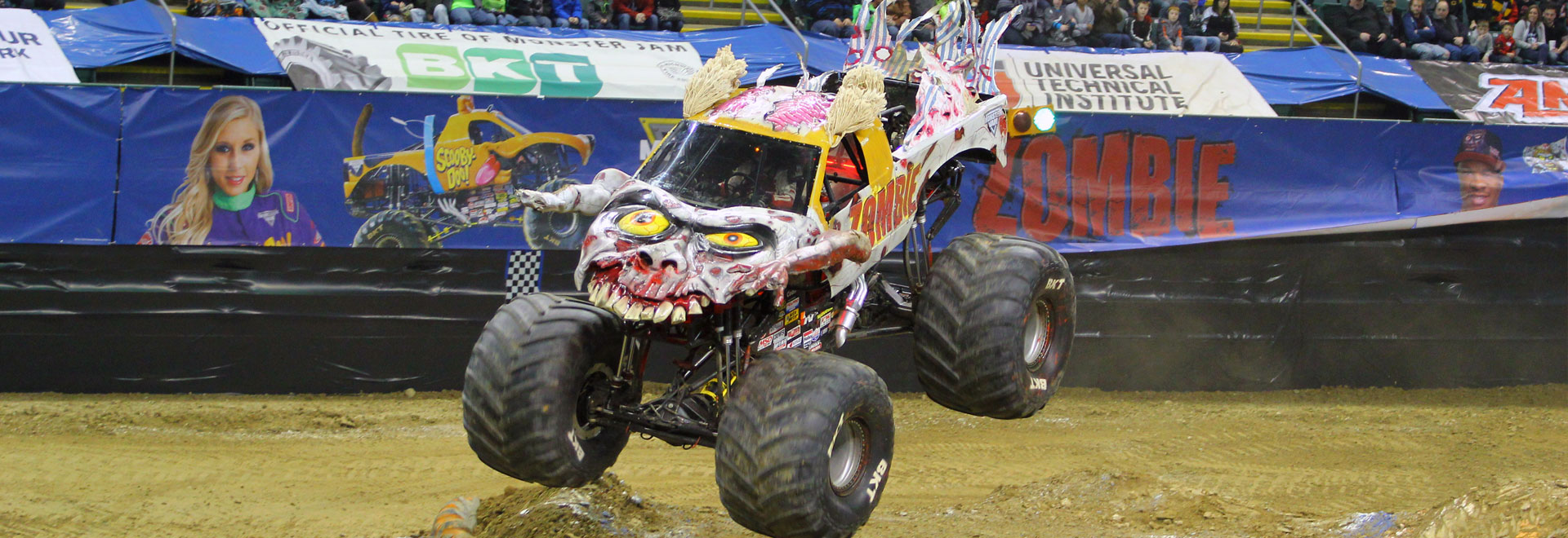 Round 5 of Monster Jam featuring the AMSOIL Series roars through Dayton, OH!
