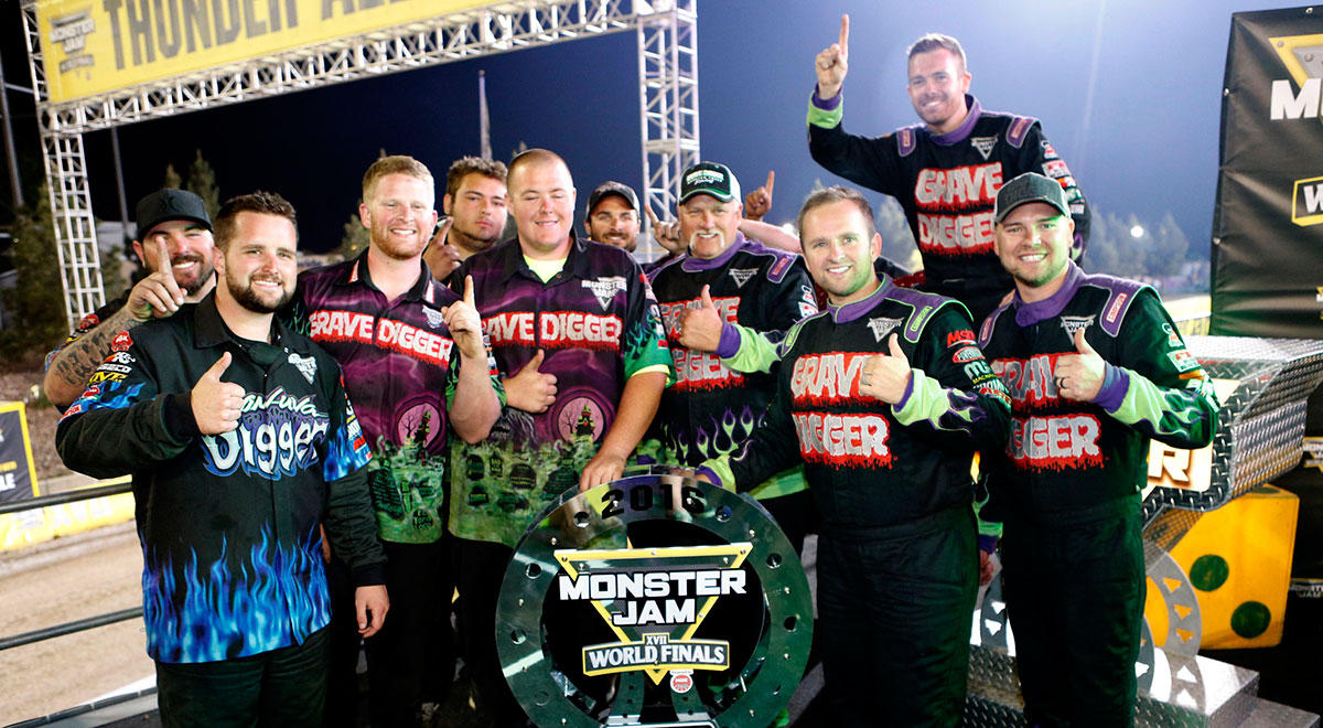 Monster Jam World Finals XVII Freestyle Winner