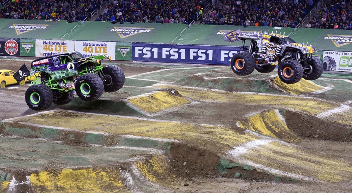 Monster Jam Racing