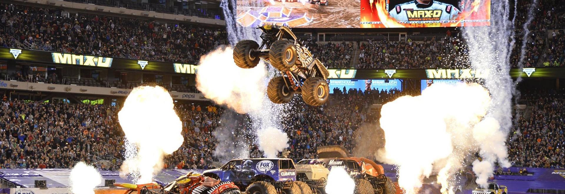 Max D Stunt at MetLife Stadium