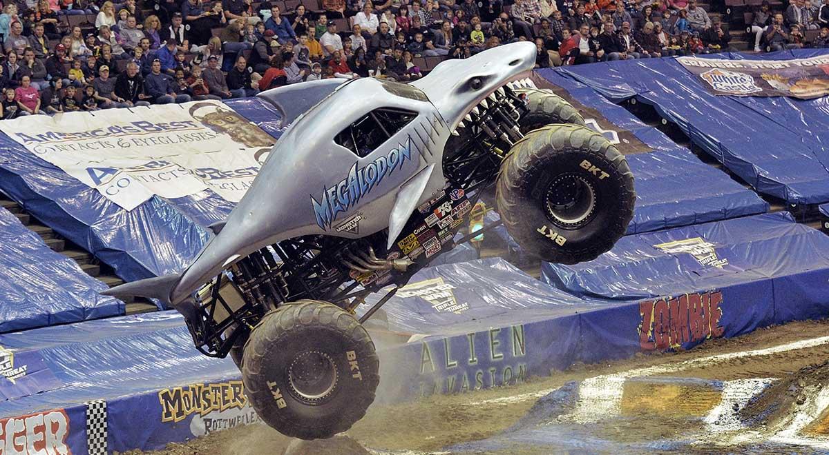 Megalodon Monster Jam Truck