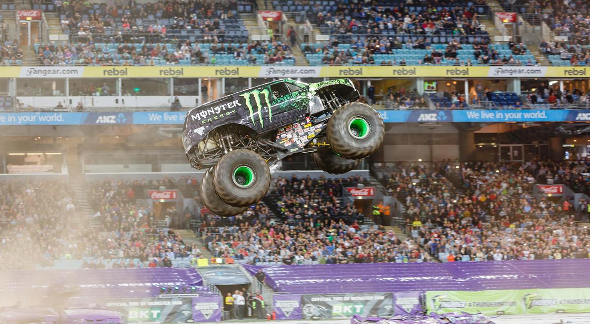 monster jam sydney pitpass gurmit - photo#36