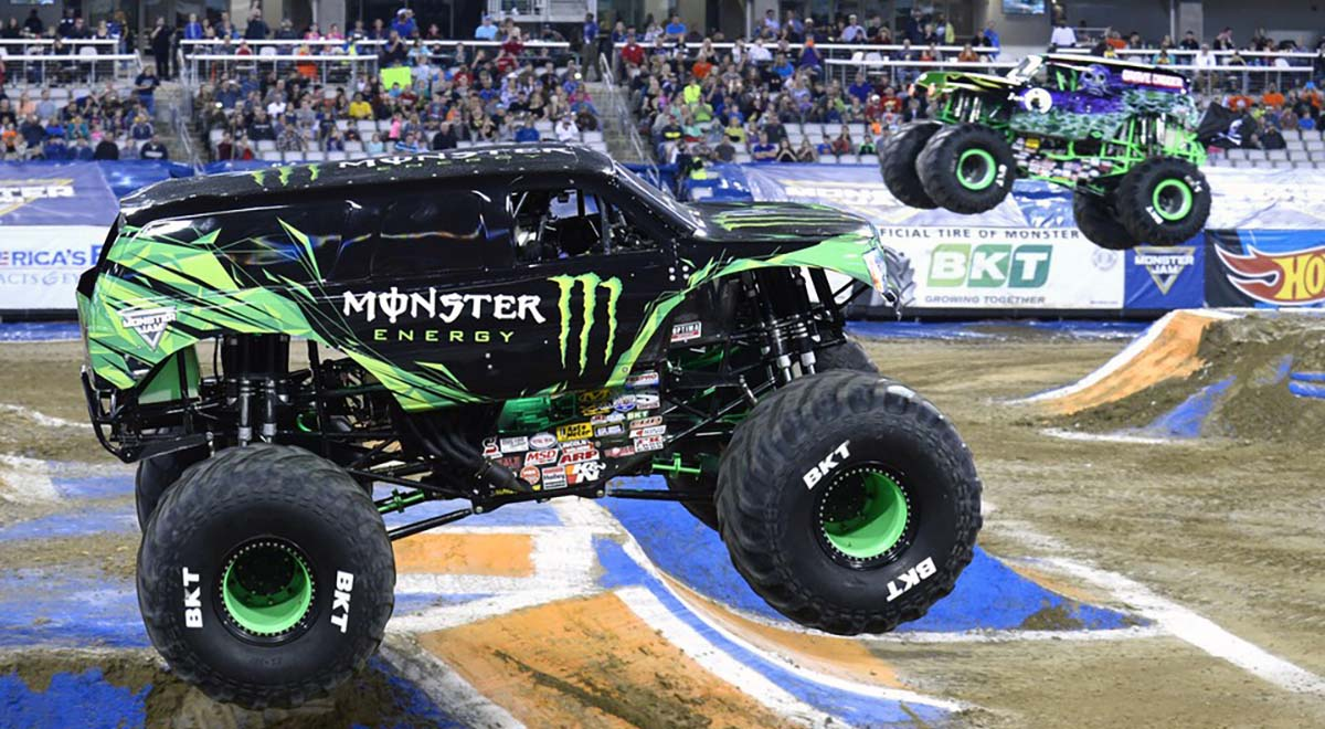 Monster Energy versus Grave Digger
