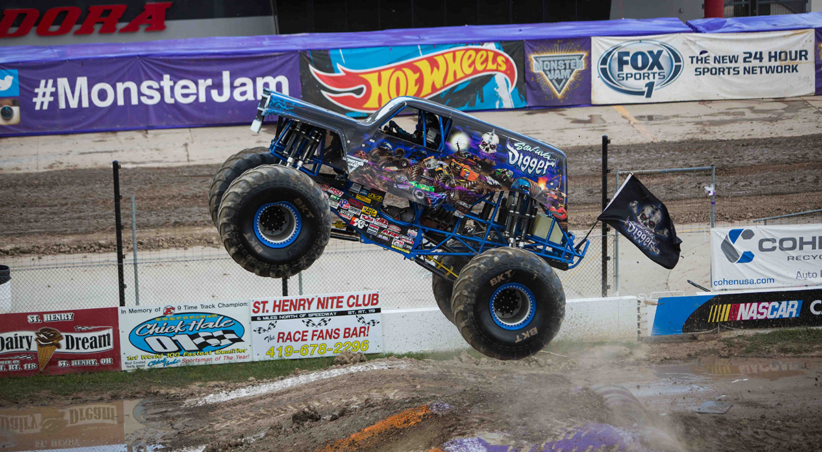 Monster Jam New Weston