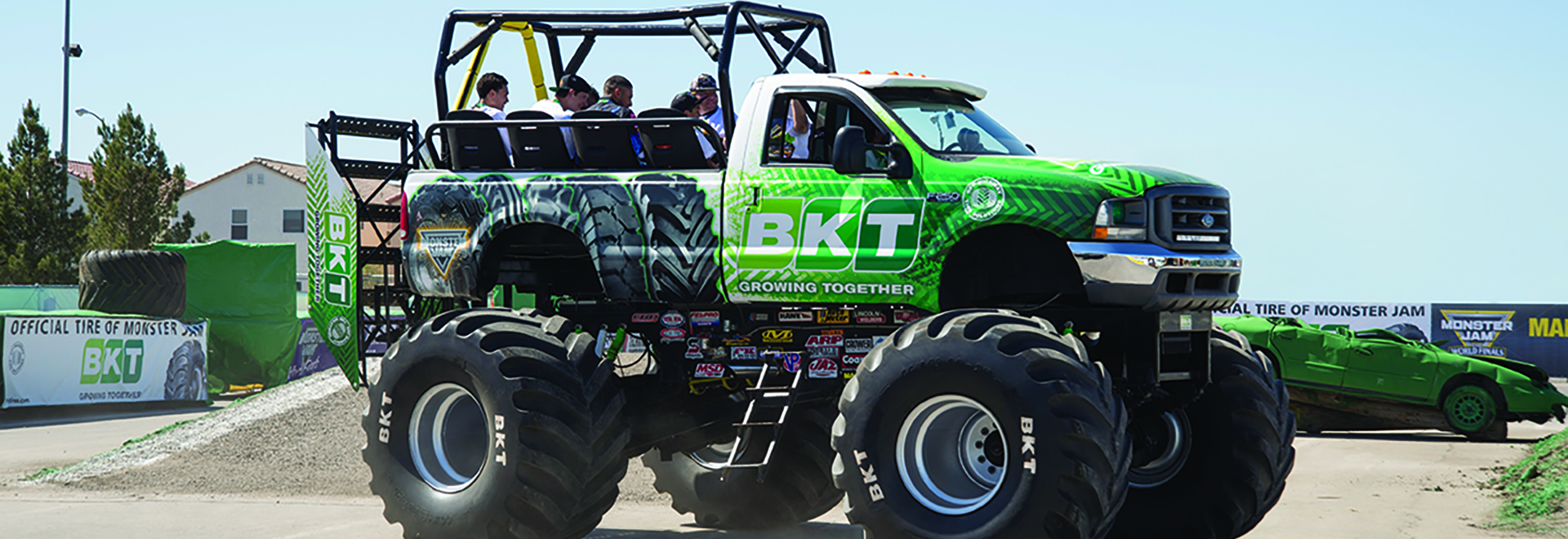 experience the ride truck monster jam