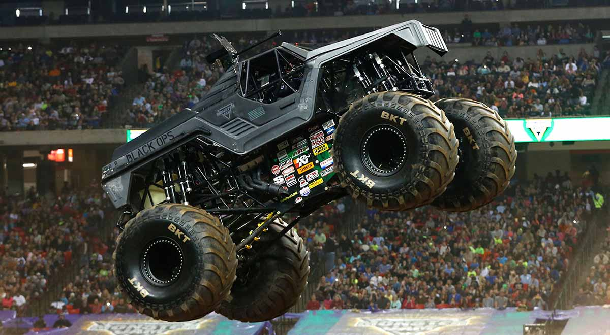 Special Ops Truck >> Soldier Fortune Black Ops | Monster Jam