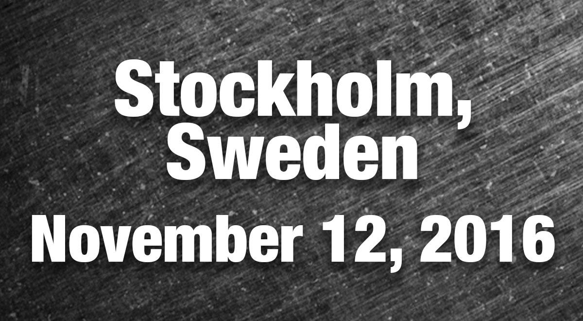 Stockholm Results