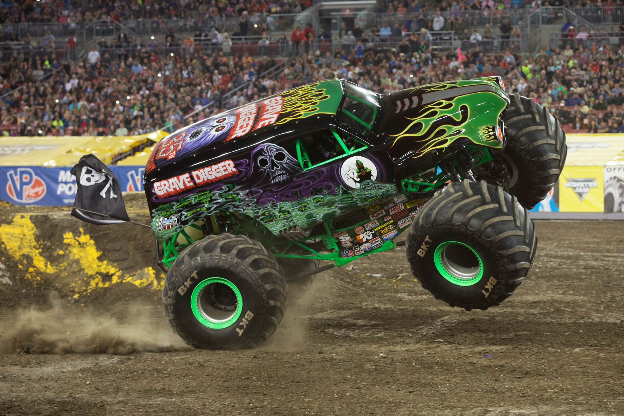 Grave Digger (Charlie Pauken) (Photo by Eric Stern)