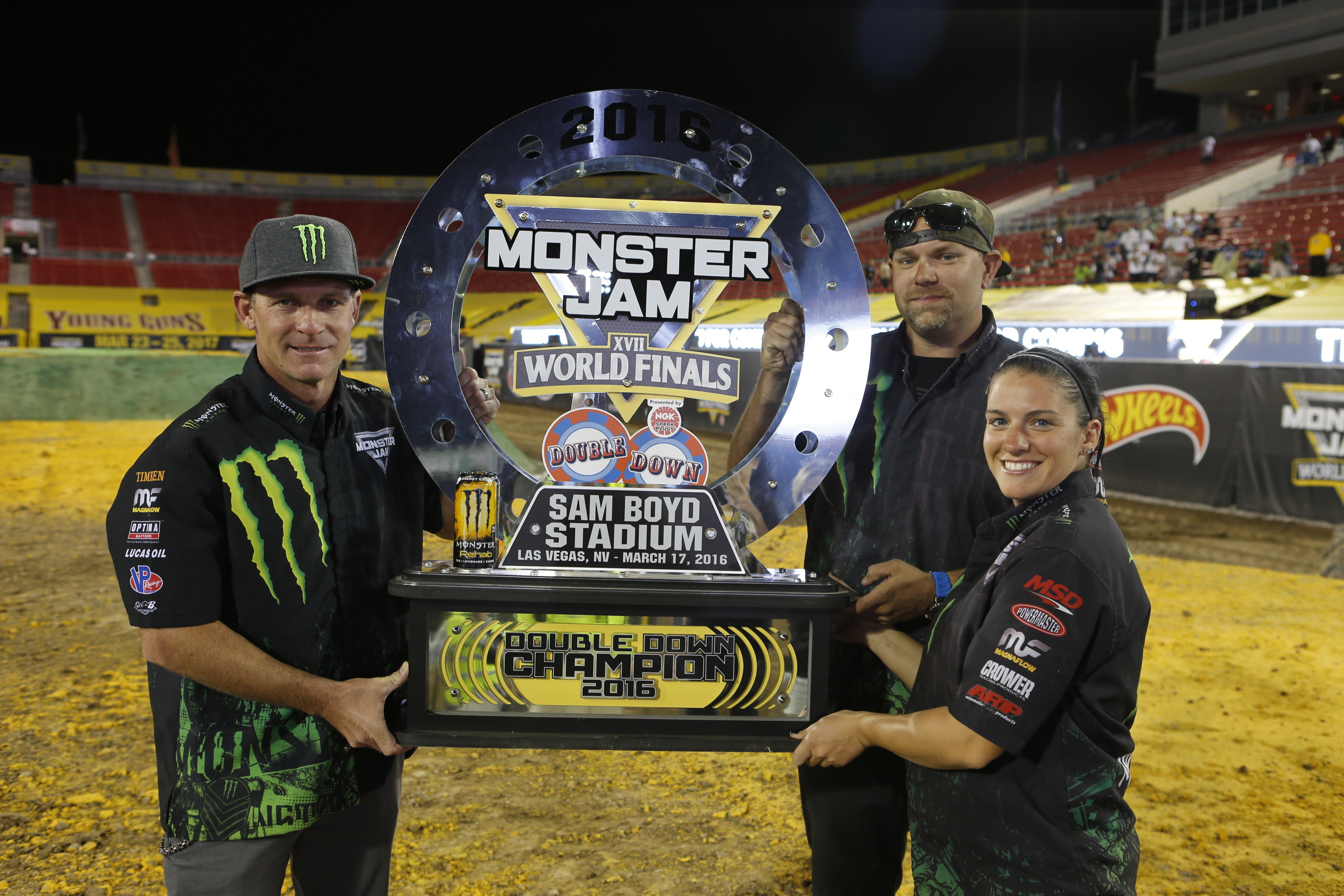 MonsterJamWorldFinals Thursday Night Winner