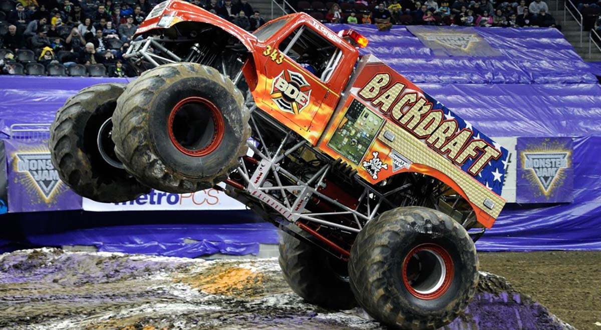 Backdraft Monster Jam Truck