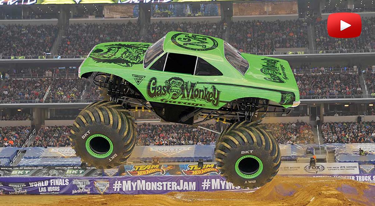 Monster trucks movie youtube for Blaze e le mega macchine youtube