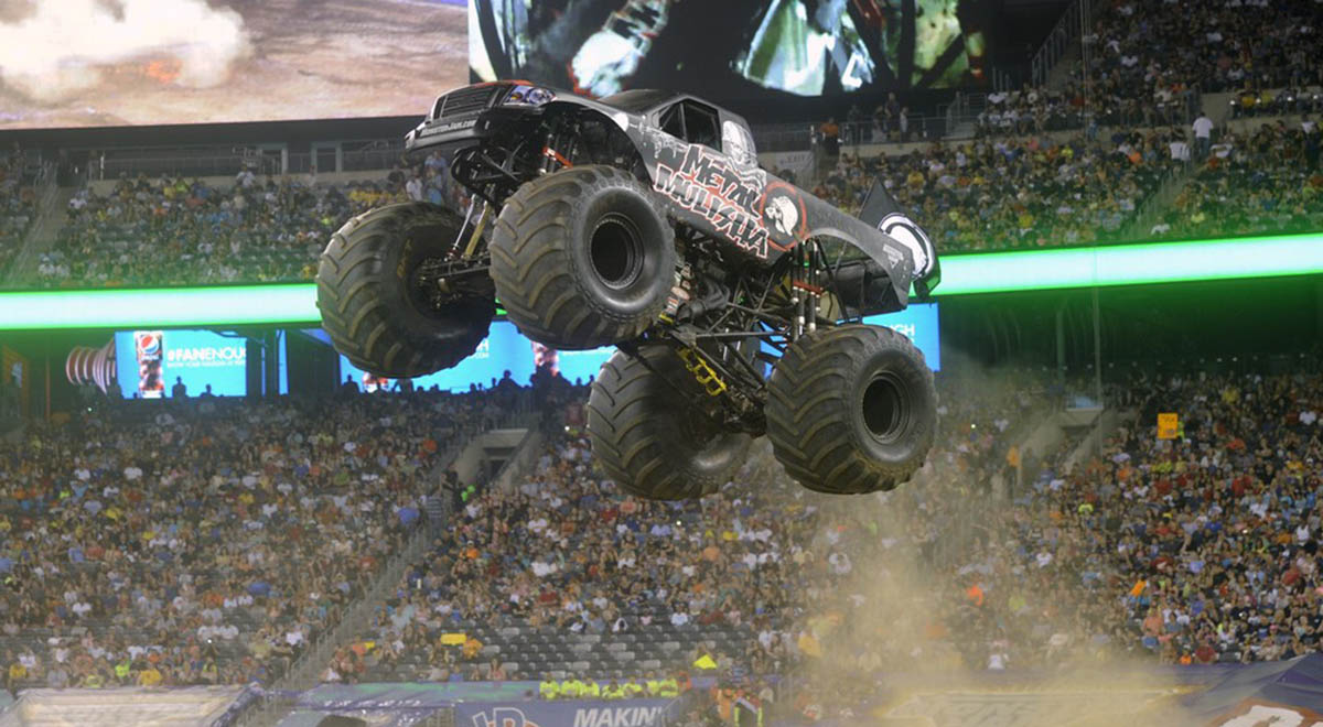 Monster Jam Metal Mulisha MetLife
