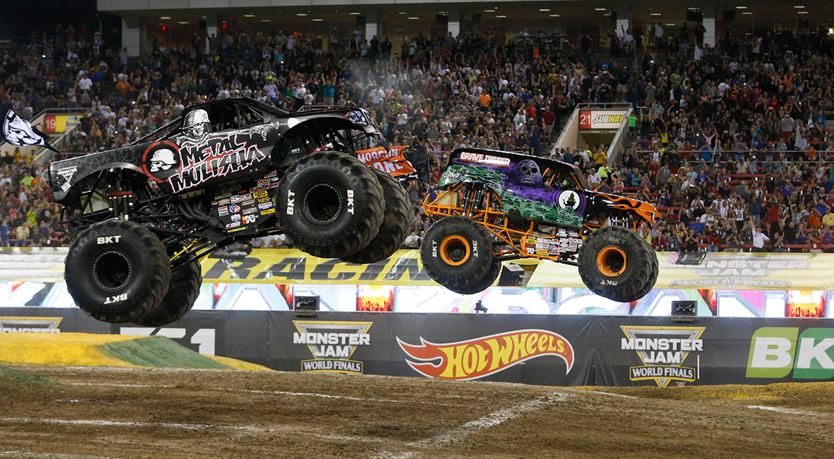 Grave Digger Driver Morgan Kane Wins Racing